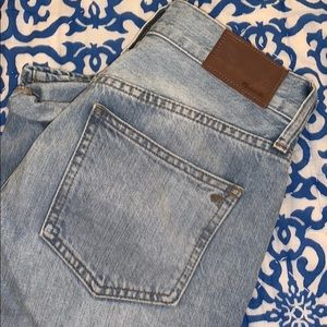 Madewell Perfect Vintage Straight Hi Rise Jeans